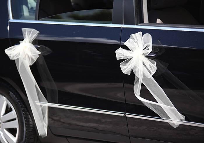 Autoschmuck Hochzeit gnstig  Groe Bildergalerie