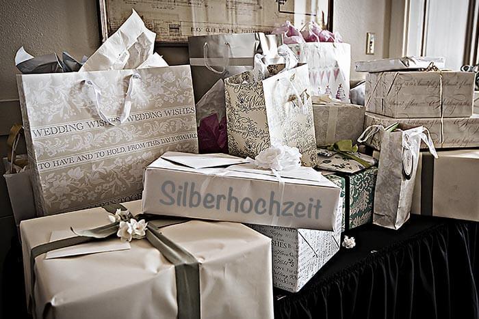 Geschenke zur Silberhochzeit  Top 25 Tipps Ideen