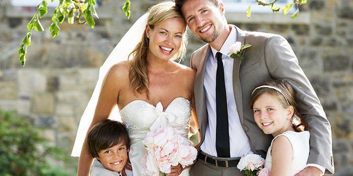 Hochzeit mit Kindern  Schne Aufgaben Unterhaltung