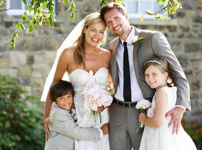 Heiraten mit eigenen Kindern  So wirds ein toller Tag fr alle