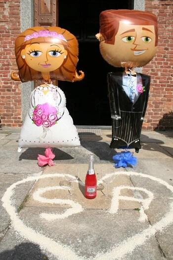 Luftballons zur Hochzeit  So setzt ihr die himmlischfrhliche Deko ein