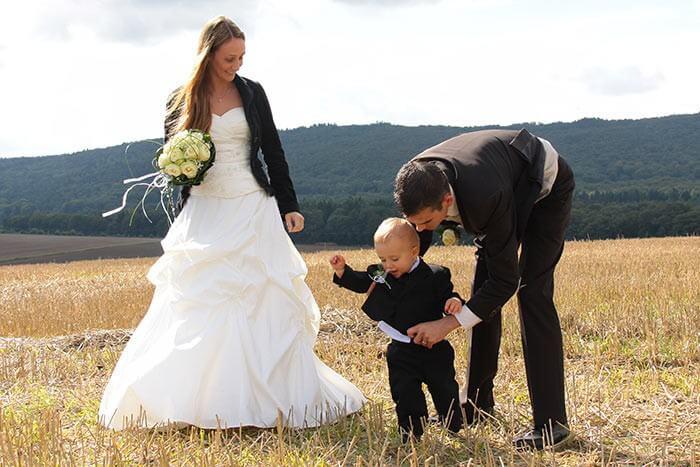 Hochzeit mit Kindern  Schne Aufgaben Unterhaltung  Geschenke