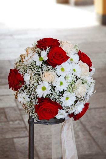 Hochzeitsdeko rot wei  Bildergalerie Hochzeitsportal24