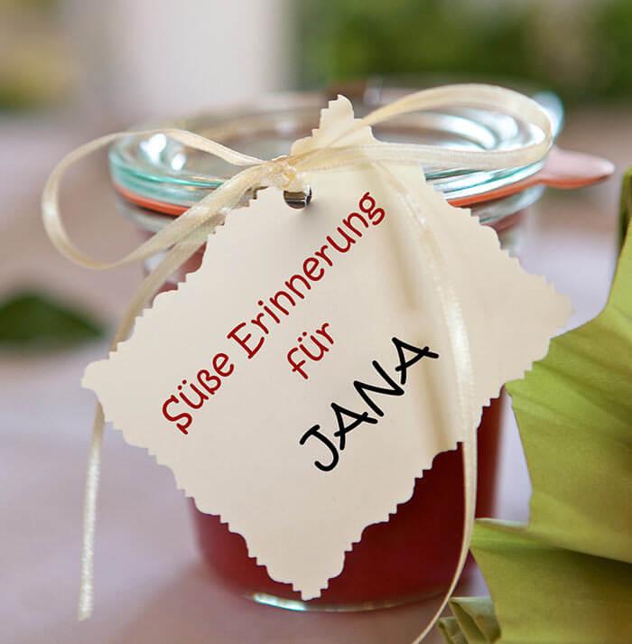 Die Top 25 Gastgeschenke zur Hochzeit  Hochzeitsportal24