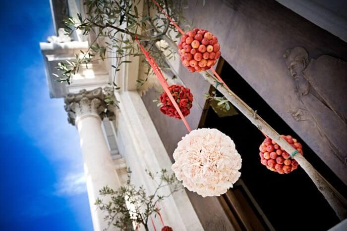 Kirchendeko fr die Hochzeit  Mehr zu Blumenschuck  Co