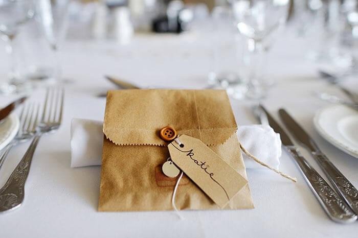 Platzkarten basteln  Bildergalerie Hochzeitsportal24