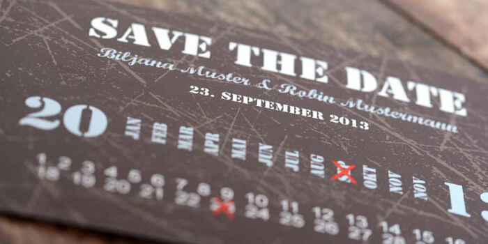 Save the Date Karten zur Hochzeit  Tipps Beispiele
