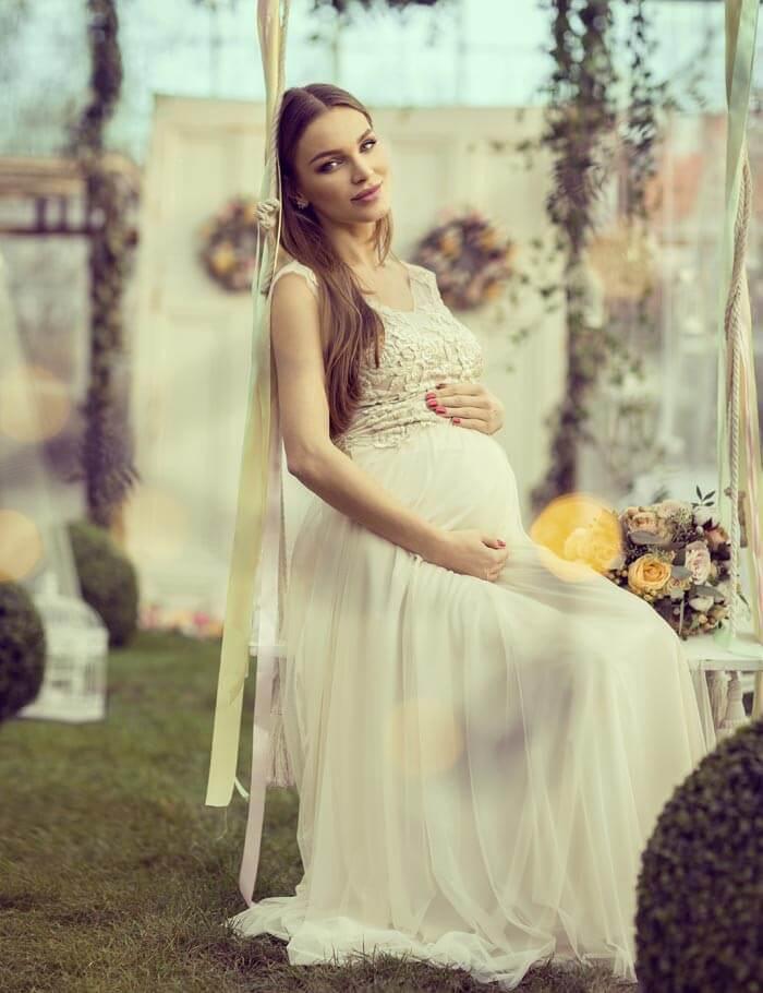 Brautkleider fr Schwangere richtig aussuchen  Wichtige