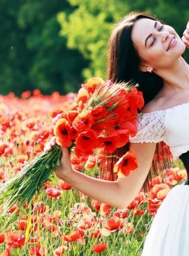 Brautstrau Wildblumen  Bildergalerie Hochzeitsportal24
