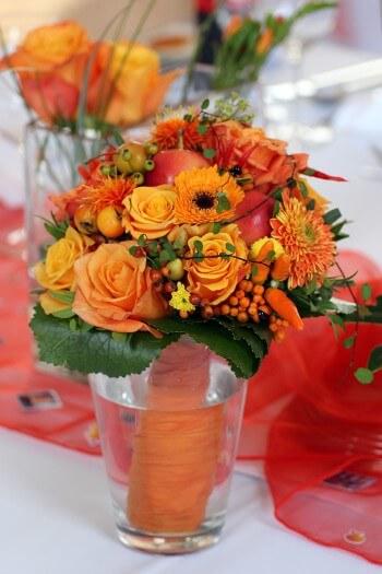 Brautstrau Rot Orange  Bildergalerie Hochzeitsportal24
