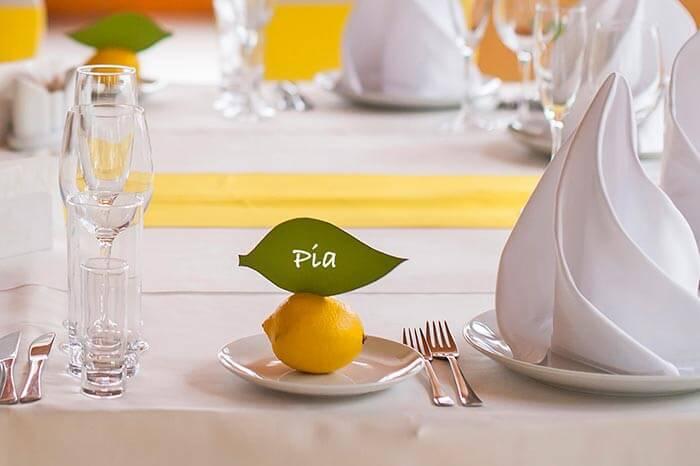 Tischdekoration zur Hochzeit  Tipps  Ideen