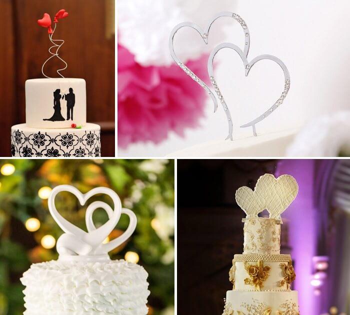 Cake Topper Die schnsten Torten Topper zur Hochzeit