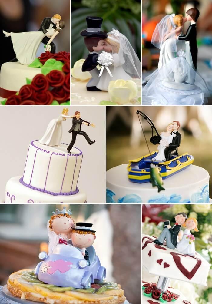 Hochzeitstortenfiguren  Inspirationen von klassisch bis