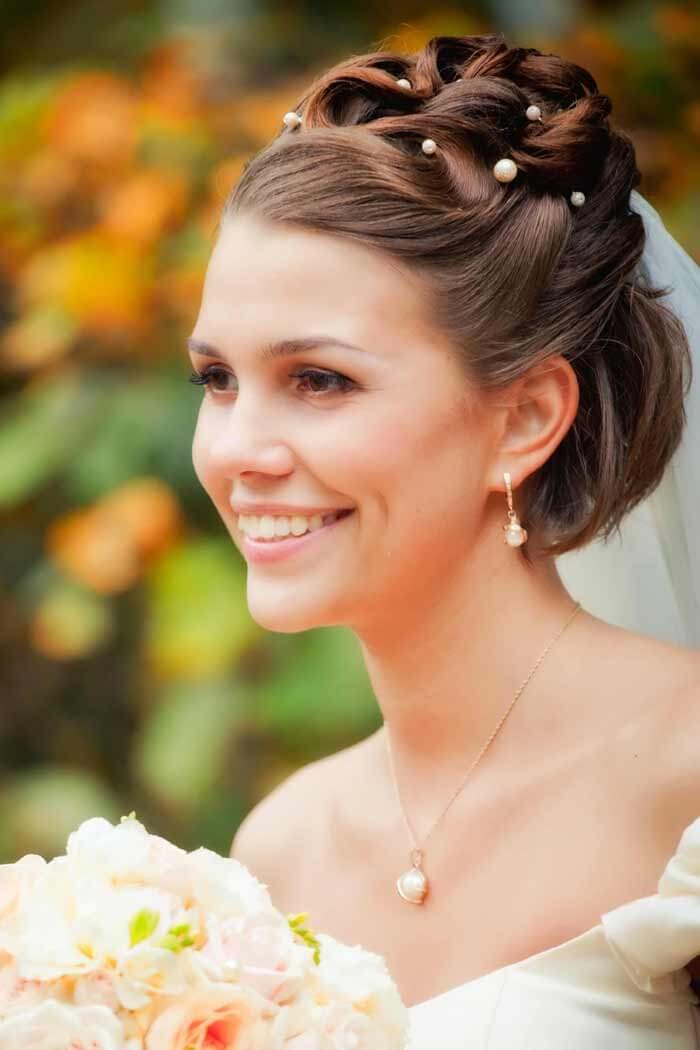 Brautfrisur Bob Bildergalerie Hochzeitsportal24