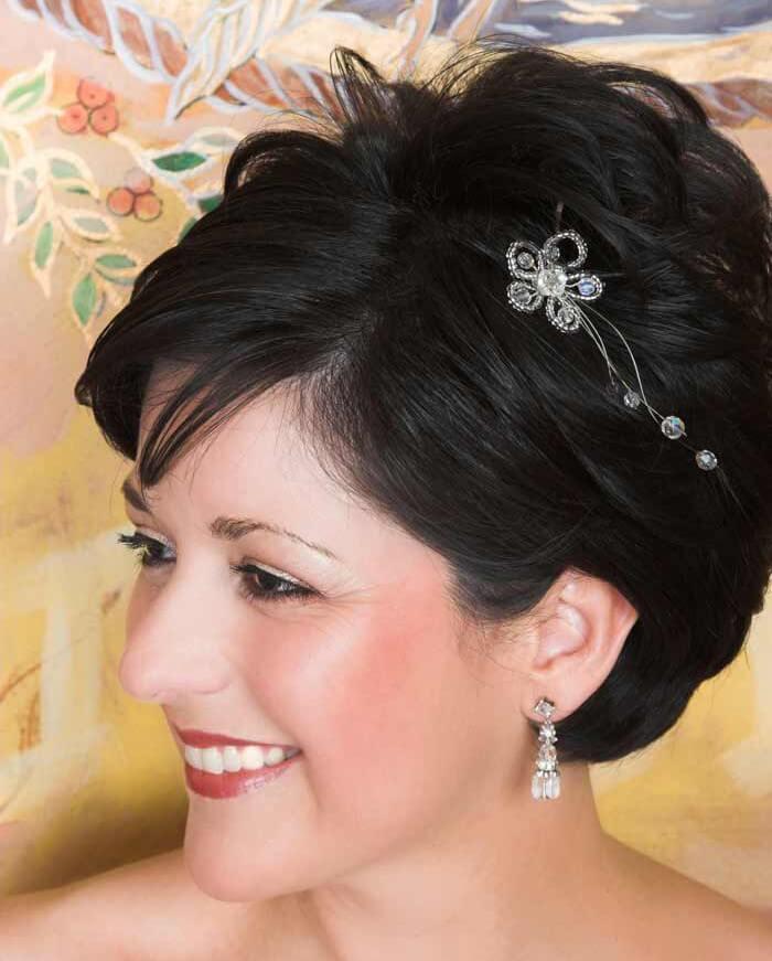 Brautfrisur kurze Haare  Bildergalerie Hochzeitsportal24