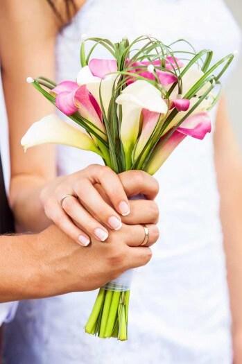 Brautstrau Calla  Bildergalerie Hochzeitsportal24