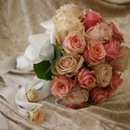 Brautstrau mit Rosen  Bildergalerie Hochzeitsportal24