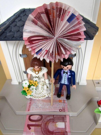 PlaymobilBrautpaar  tolles Hochzeitsgeschenk fr