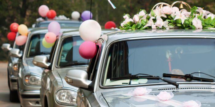 Kosten fr den Autoschmuck bei der Hochzeit  Infos  Tipps