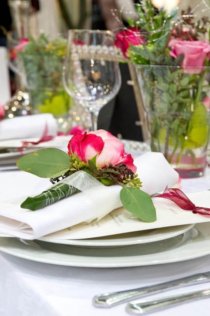 Hochzeit Rosen Deko Tipps Ideen  Inspirationen zur Deko
