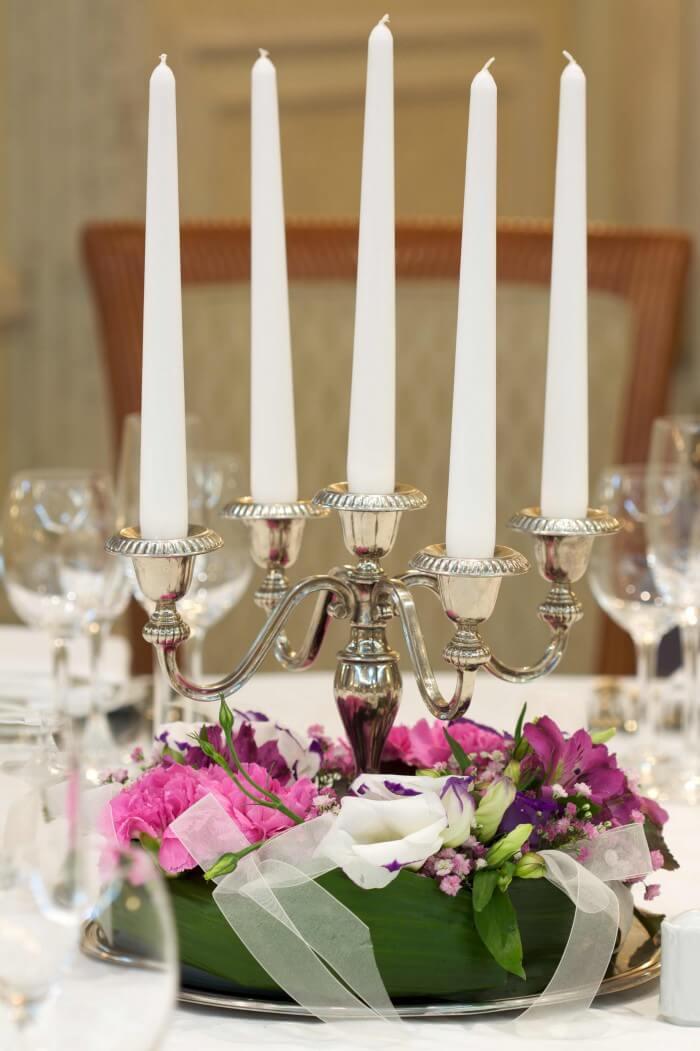 Tischdeko Hochzeit Beispiele  Bildergalerie
