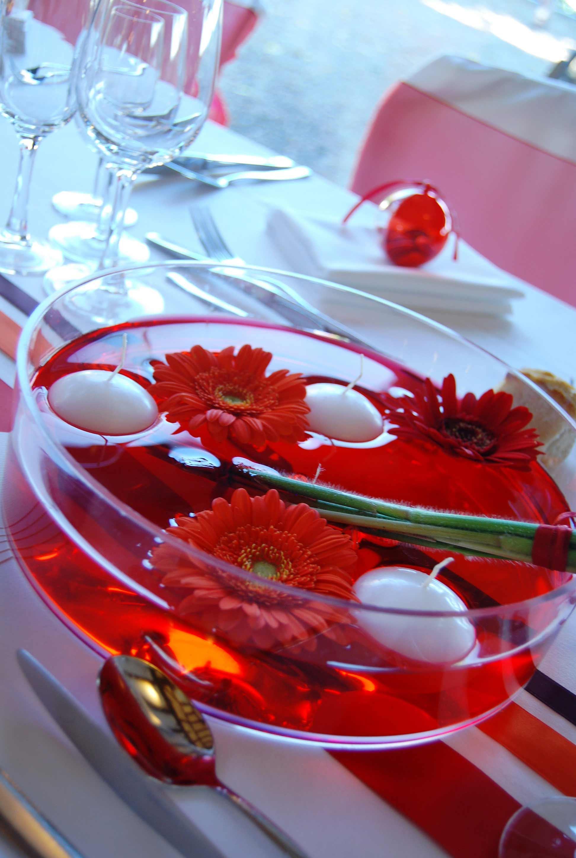 Hochzeitsdeko in Rot  Bildergalerie Hochzeitsportal24