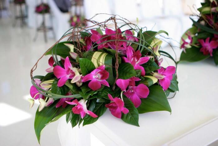 Hochzeitsdekoration Orchidee  Galerie Hochzeitsportal24