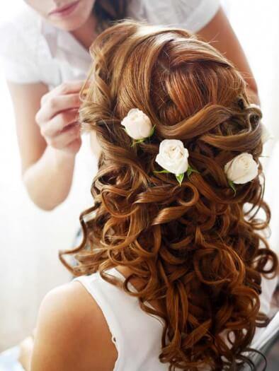 Hochzeitsfrisuren Lange Haare Bildergalerie Hochzeitsportal24