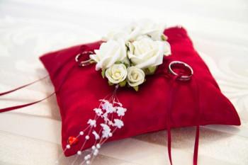 Ringkissen fr die Hochzeit  Viele RingkissenIdeen