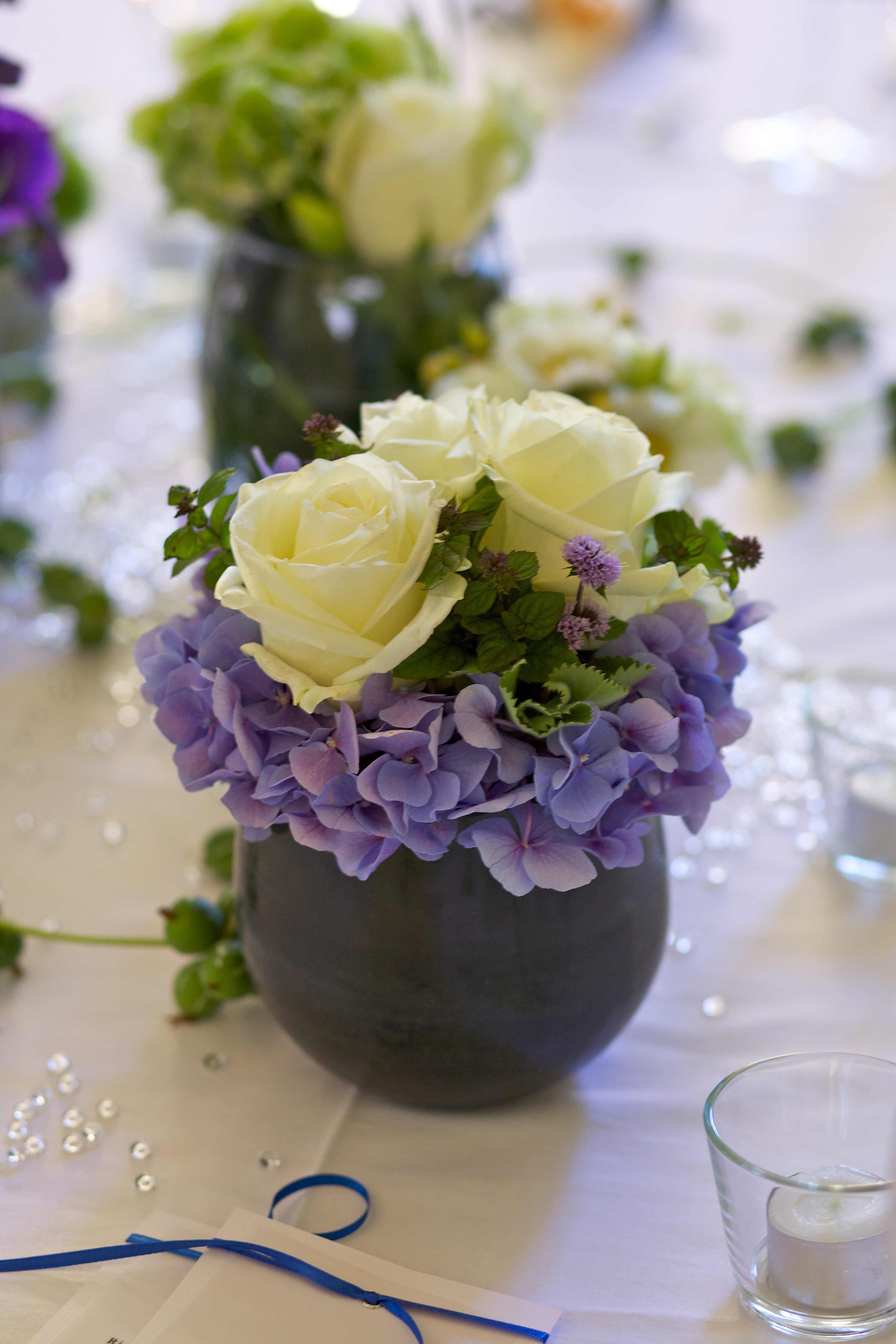 Tischdeko Hochzeit mit Rosen  Galerie Hochzeitsportal24
