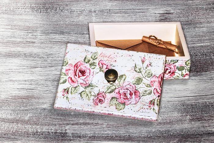 Briefbox zur Hochzeit selber machen I einfache DIYAnleitung
