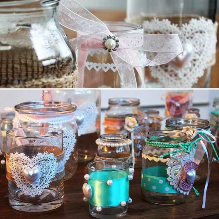DIY Glas Deko  5 tolle Ideen frs Glser Dekorieren zu Hochzeit  Co