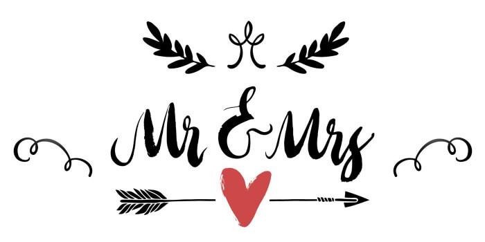 DIY Hochzeitslogo erstellen  SchrittfrSchrittAnleitung  viele Inspirationen