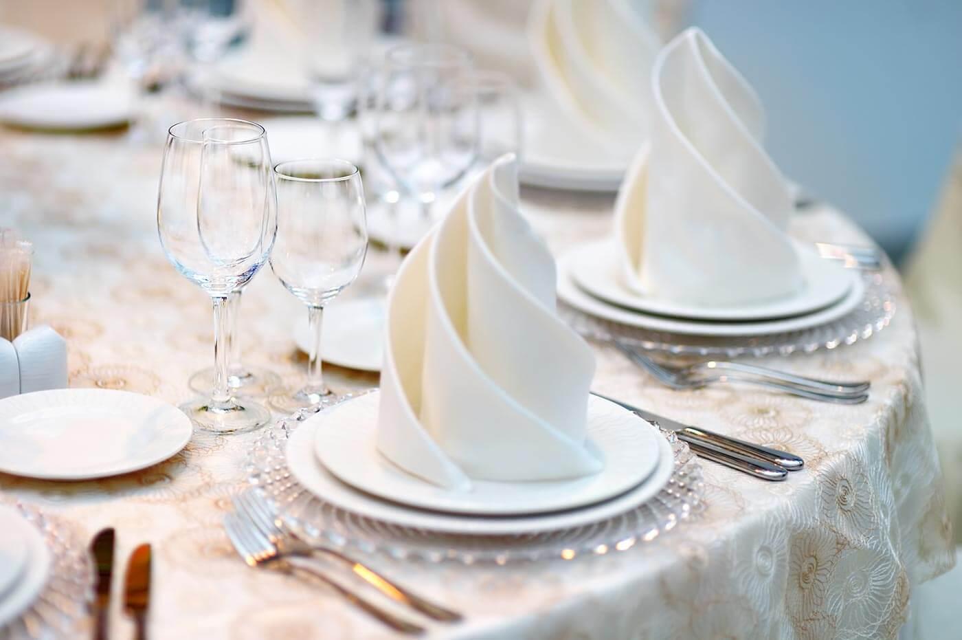 Servietten falten fr die Hochzeit  Top 10 Ideen