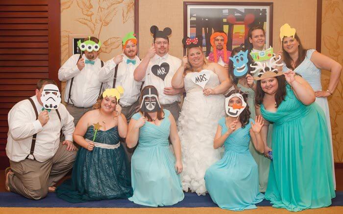 Hochzeit Deko Disney