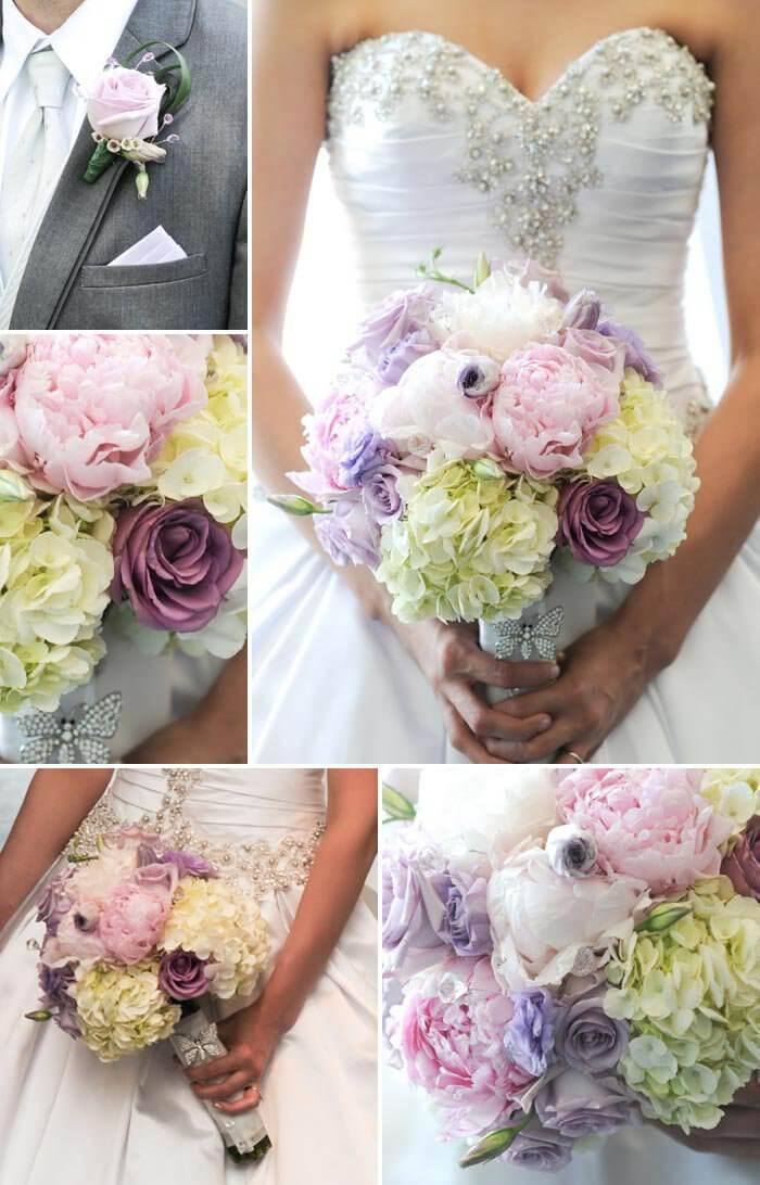 Brautstrau in Blau oder Lila  tolle Inspirationen fr schwierige Hochzeitsfarben