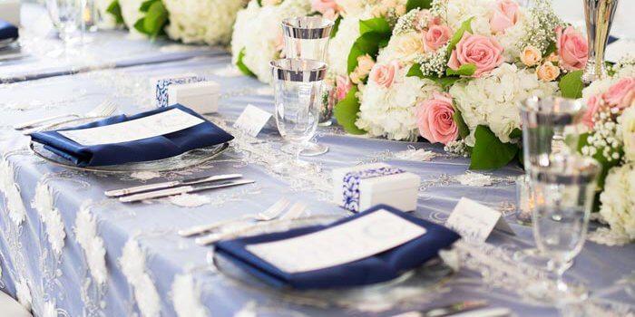 Hochzeitsdeko Blau  Wei  Inspirationen zu den eleganten