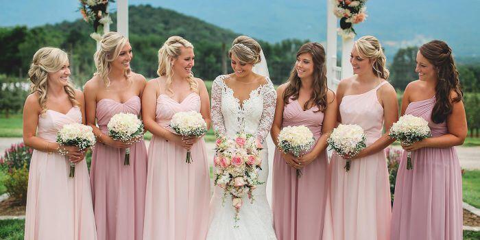 RosaRosenHochzeit Romantisch heiraten im rosa