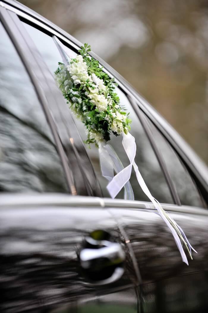 Autodeko Hochzeit Autoschmuck bestellen  Bildergalerie