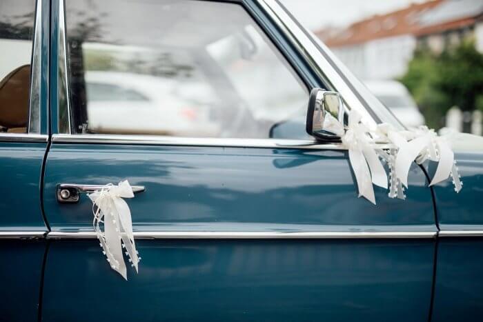 Autodeko Hochzeit  Infos Tipps und Bastelanleitung