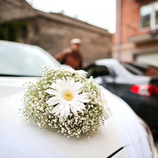 Schmuck Hochzeitsauto  Viele schne Beispiele in der Bildergalerie