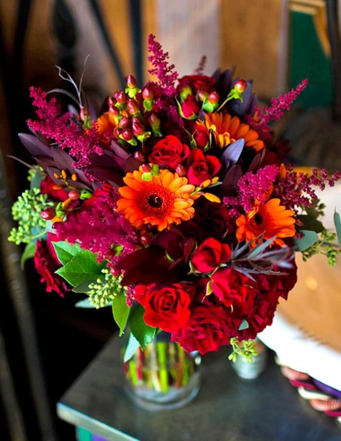 Brautstrau Herbsthochzeit  Bildergalerie mit vielen