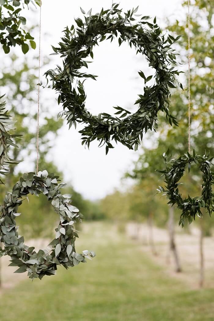 Eukalyptus Kranz  Mehr Beispiele in unserer Bildergalerie