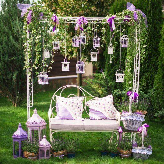 Gartendeko fr die Hochzeit  Ganz viele Beispiele in der