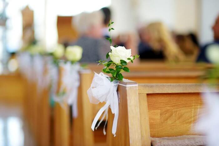 Kirchendeko Hochzeit  Bildergalerie mit tollen Ideen