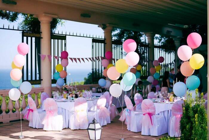 Luftballons Hochzeit Deko  Bildergalerie mit wundervollen