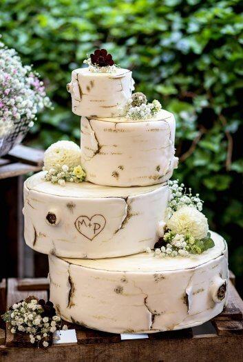 4 stckige Hochzeitstorte I Ideen  Inspiration