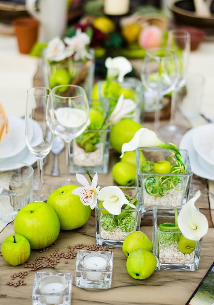 Ausgefallene Tischdeko  Groe DekoBildergalerie zur Hochzeit