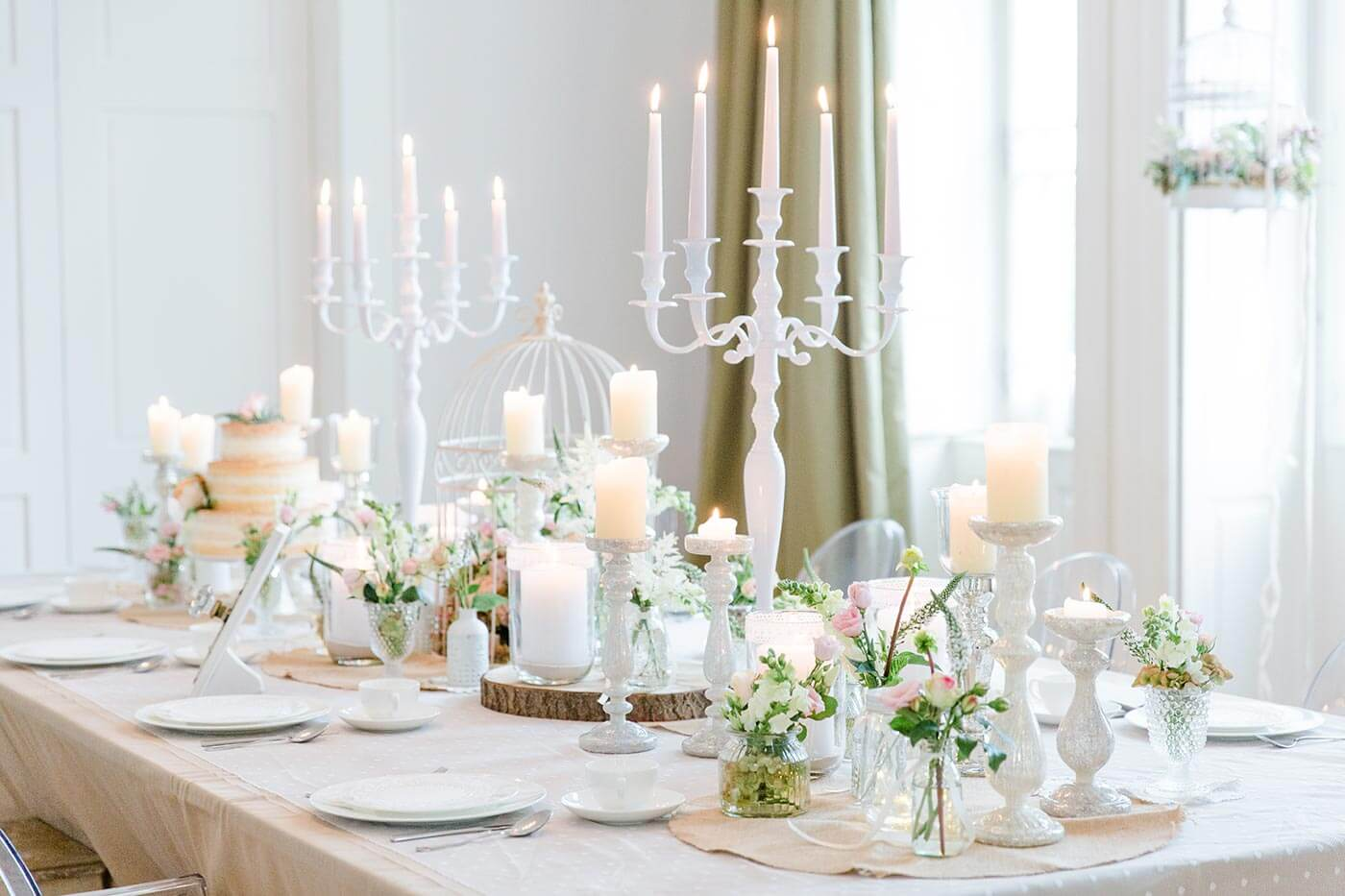 Deko Tisch fr die Hochzeit I Ideen in der Bildergalerie