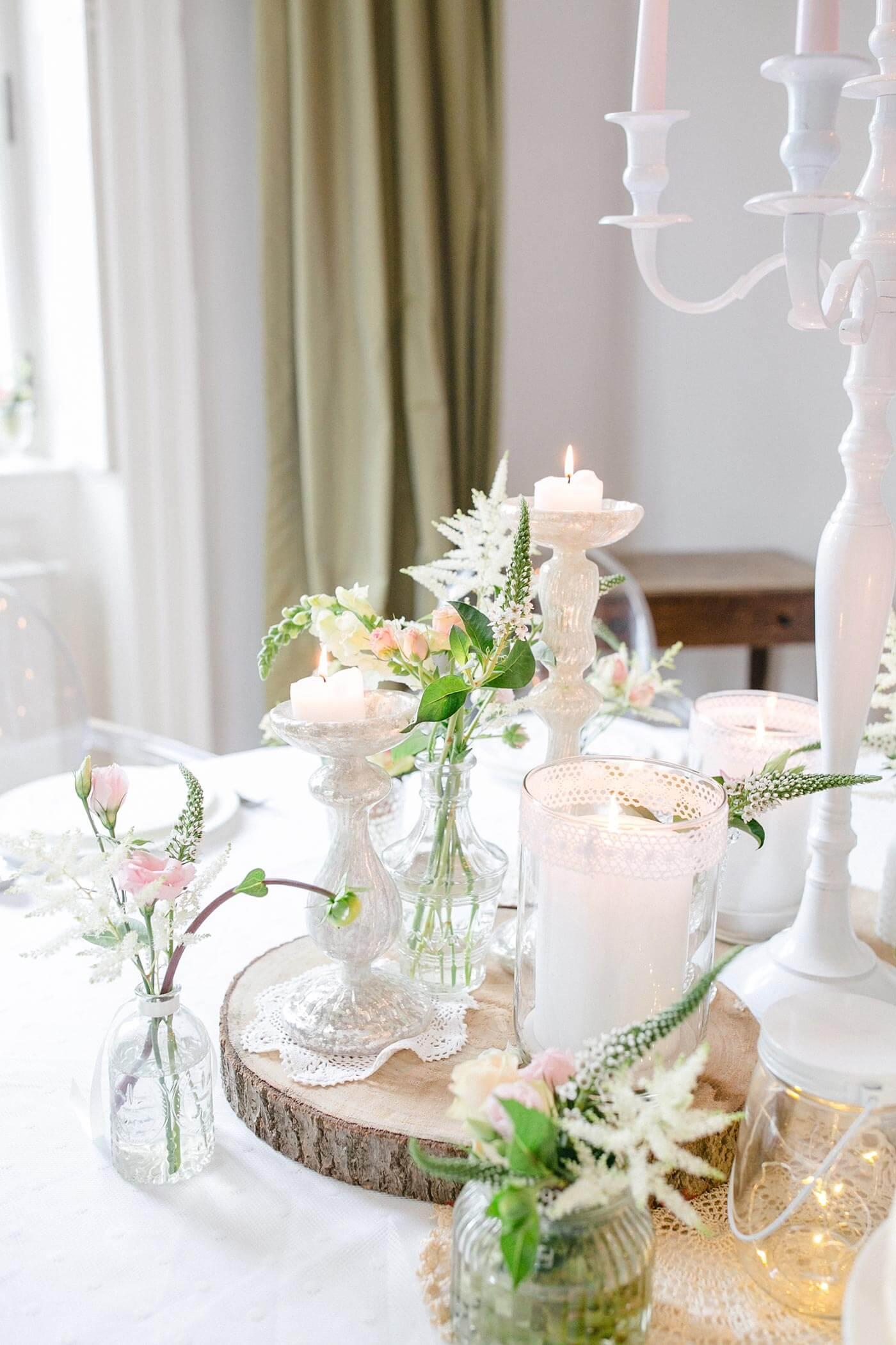 Frhling Tischdekoration zur Hochzeit I Inspiration  Ideen